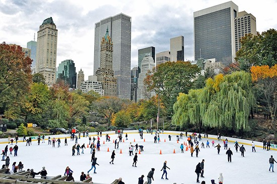 Wollman Rink on the Upper West Side